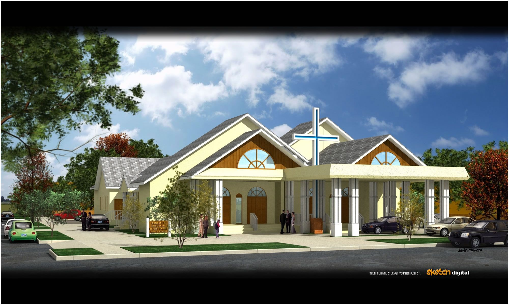 Architectural Rendering 3d And Design Visualization By