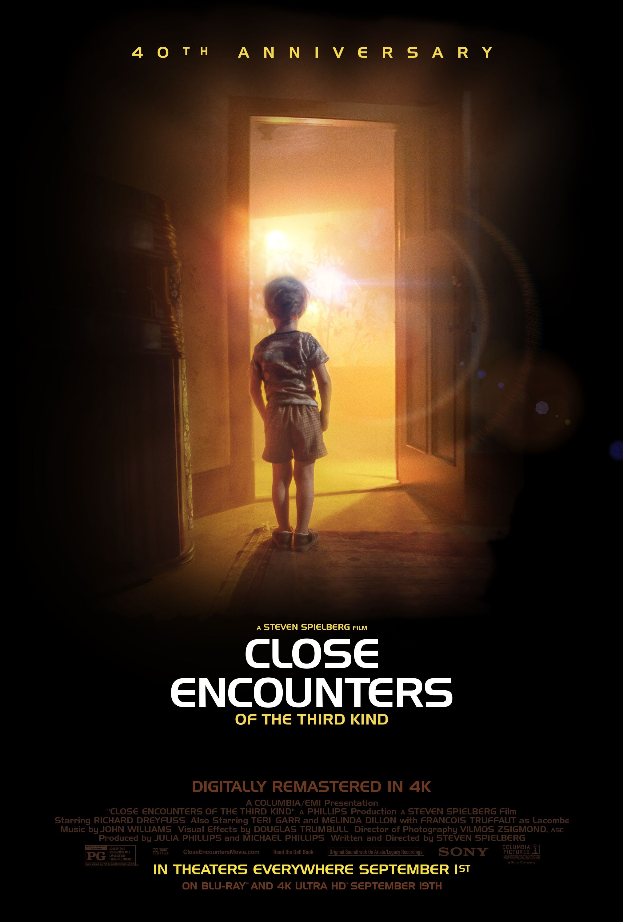 """CLOSE ENCOUNTERS OF THE THIRD KIND """"40th Anniversary"""" 