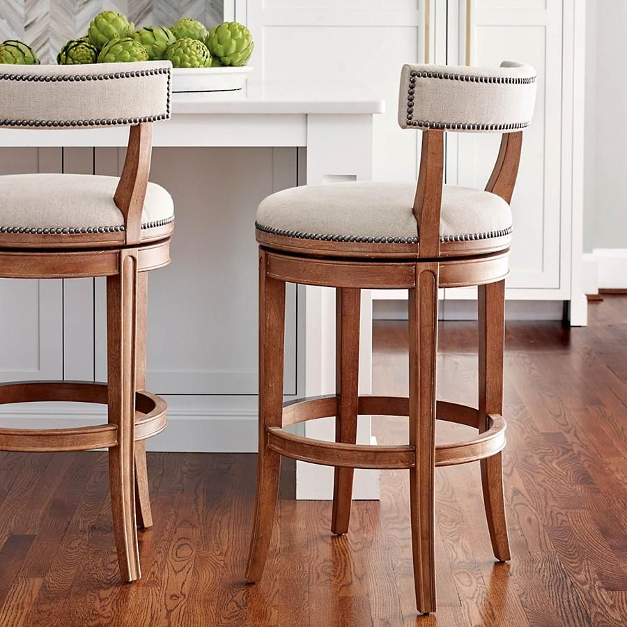 Henning Low Back Bar and Counter Stools   Kitchen stools ...
