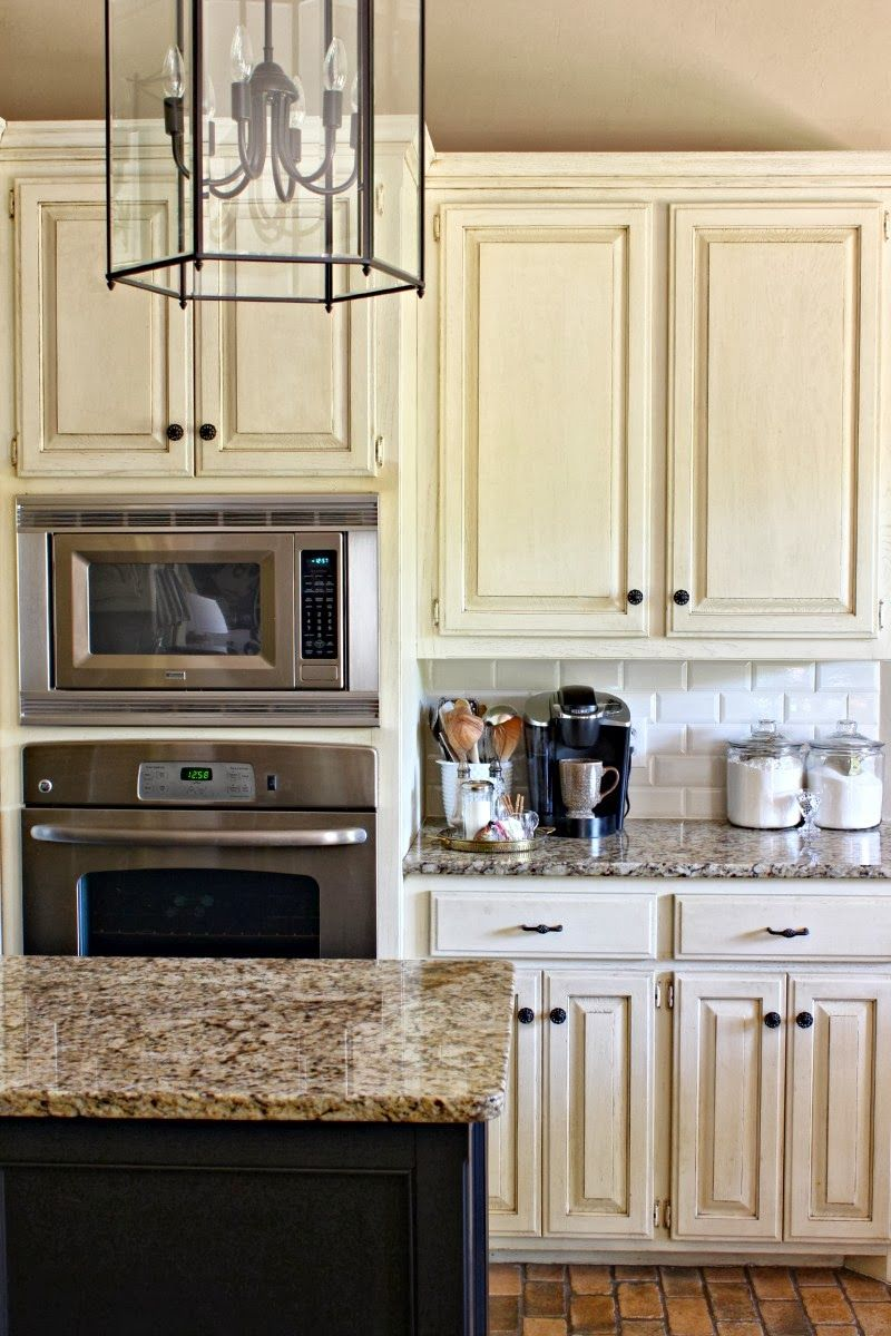 Kitchen Fetching Small Vintage Kitchen Decoration Using White Ivory Wood K Subway Tile Backsplash Kitchen Kitchen Tiles Backsplash Granite Countertops Kitchen