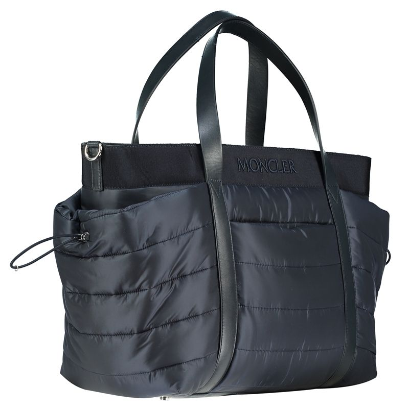 Moncler - Navy Blue Changing Bag | Jakss - Jakss