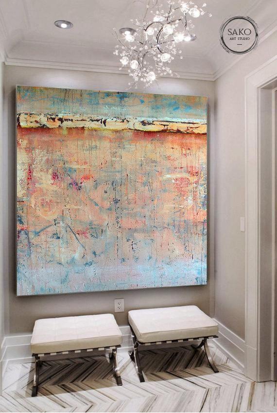 Extra Large Wall Art Large Original Abstract Painting Etsy Large Canvas Art Extra Large Wall Art Large Wall Art