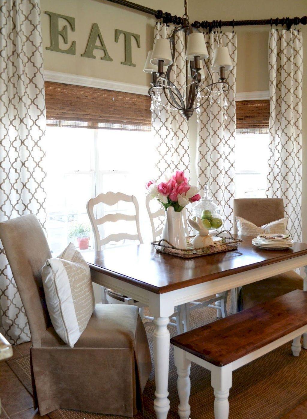 85 Best Modern Farmhouse Living Room Curtains Decor Ideas ... on Farmhouse Living Room Curtain Ideas  id=48457