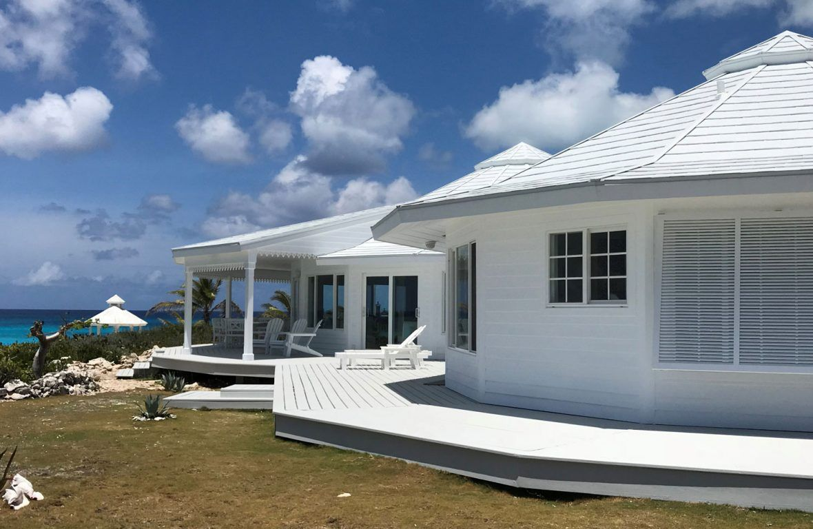 In The Bahamas Round House Home Pictures Hurricane Proof House