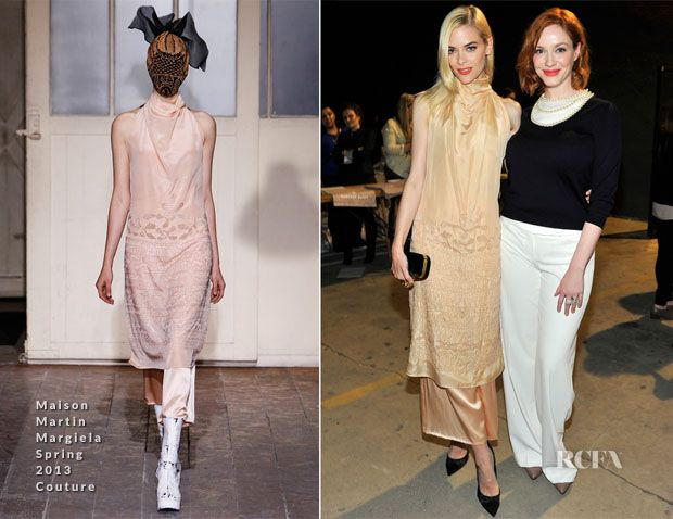 Jaime King In Maison Martin Margiela Couture – Hunters Alley Launch