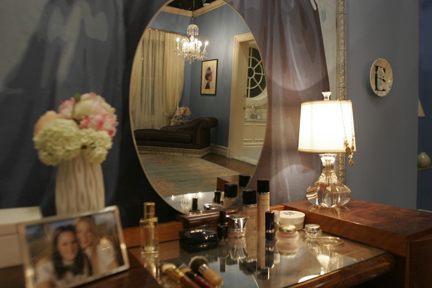 Ordinaire #Blair #Waldorf Room On The Set Of #Gossip #Girl. Designed By