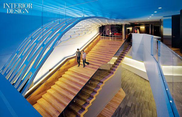 Staircases Steelcase Headquarters Grand Rapids Michigan Architect Joey Shimoda Interior DesigningArchitecture DesignCommercial