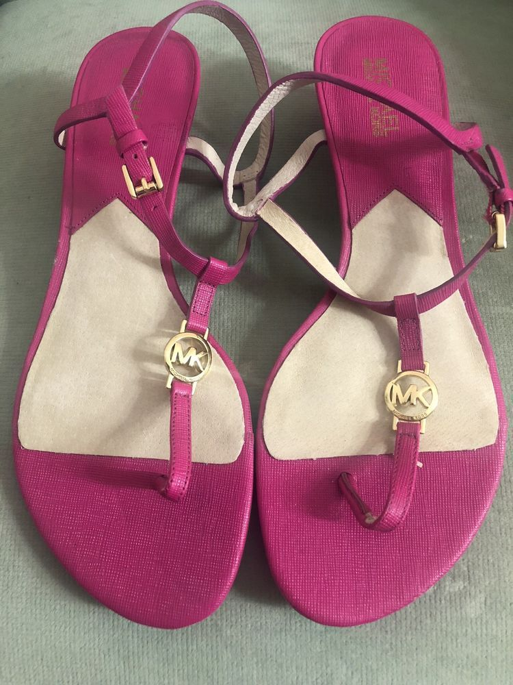 2ca9daa402c3 michael kors sandals size 9  fashion  clothing  shoes  accessories   womensshoes  sandals (ebay link)