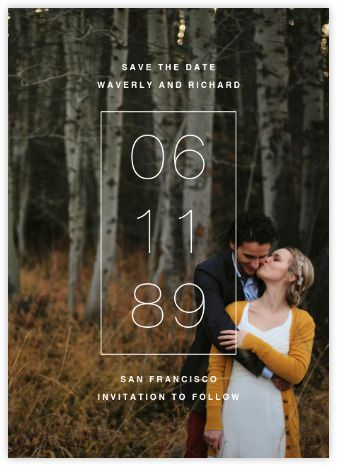 Creative Save The Date Ideas - The Johnsons Plus Dog ...