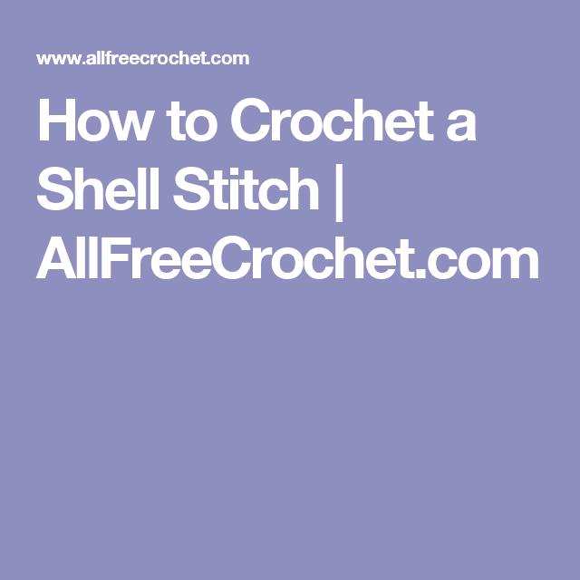 How to Crochet a Shell Stitch | AllFreeCrochet.com