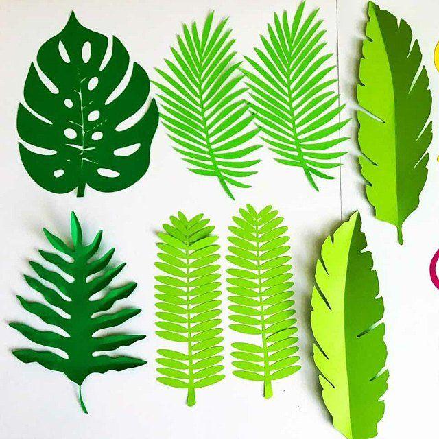 Flores de papel-SVG hoja digital-plantilla #9-Cricut y Silhouette Ready-ajustable