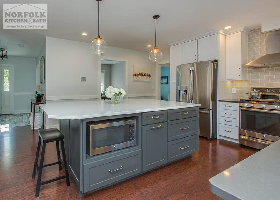 Two-Tone Echelon Kitchen (With images) | Cheap kitchen ...