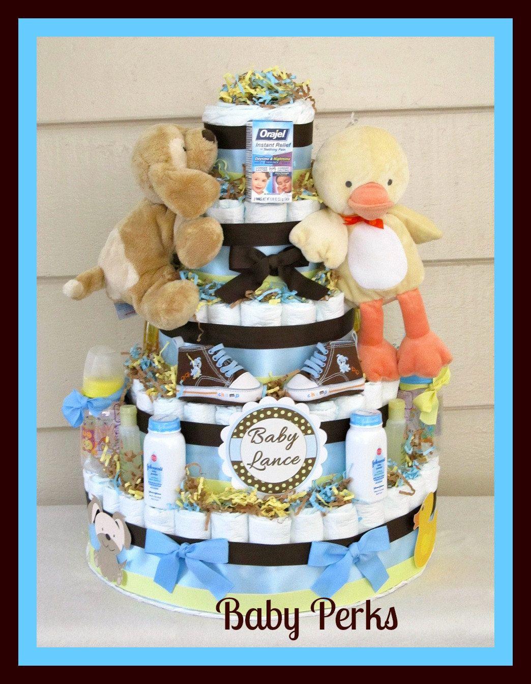 5 Tier Diaper cake