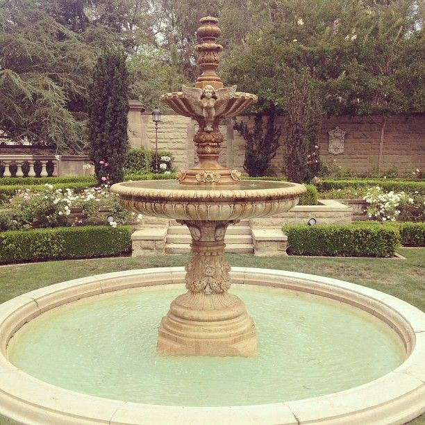 Beautiful Greystone Mansion in Beverly Hills.