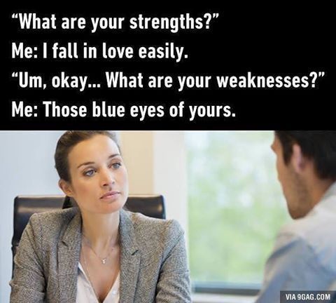 Smooth! Graduates, you know what to say during interviews now. #interview#9gag @9gagmobile