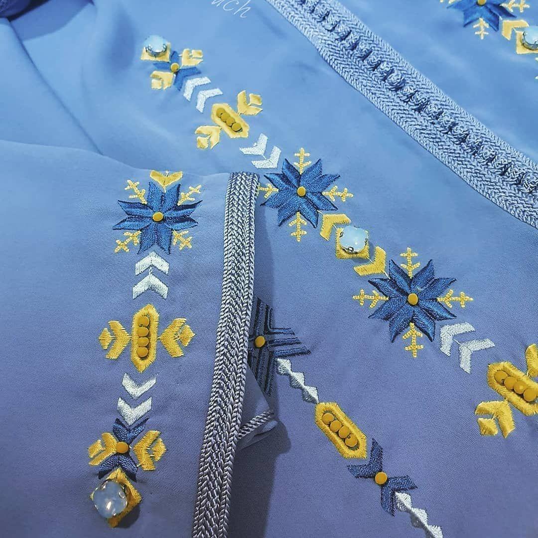 1 165 Mentions Jaime 3 Commentaires Randa Tarz Sur Instagram Aziyae Zineb Kirae Wa Khiyata Moroccan Dress Hand Embroidery Dress Moroccan Bride