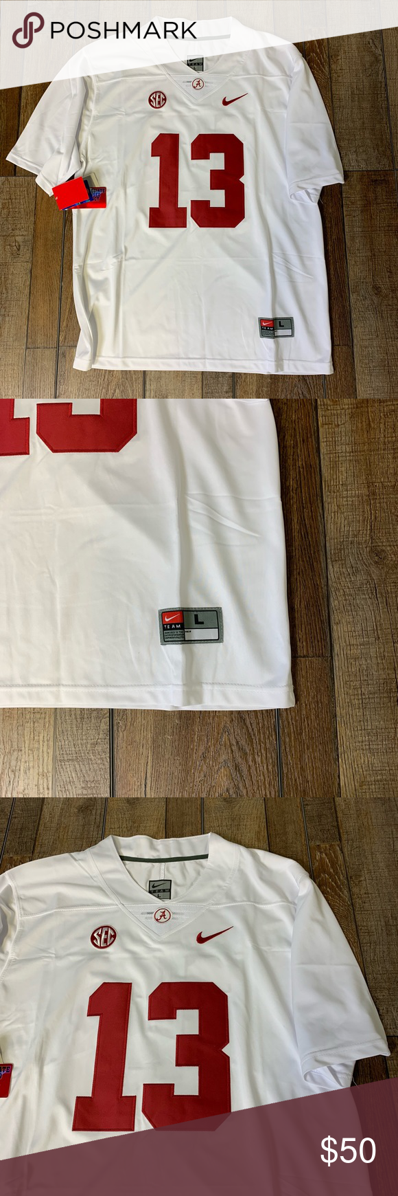 NWT Tua Tagovailoa Alabama College Jersey Large Authentic   Official Nike  Jersey Brand New with Tags ee6f10001
