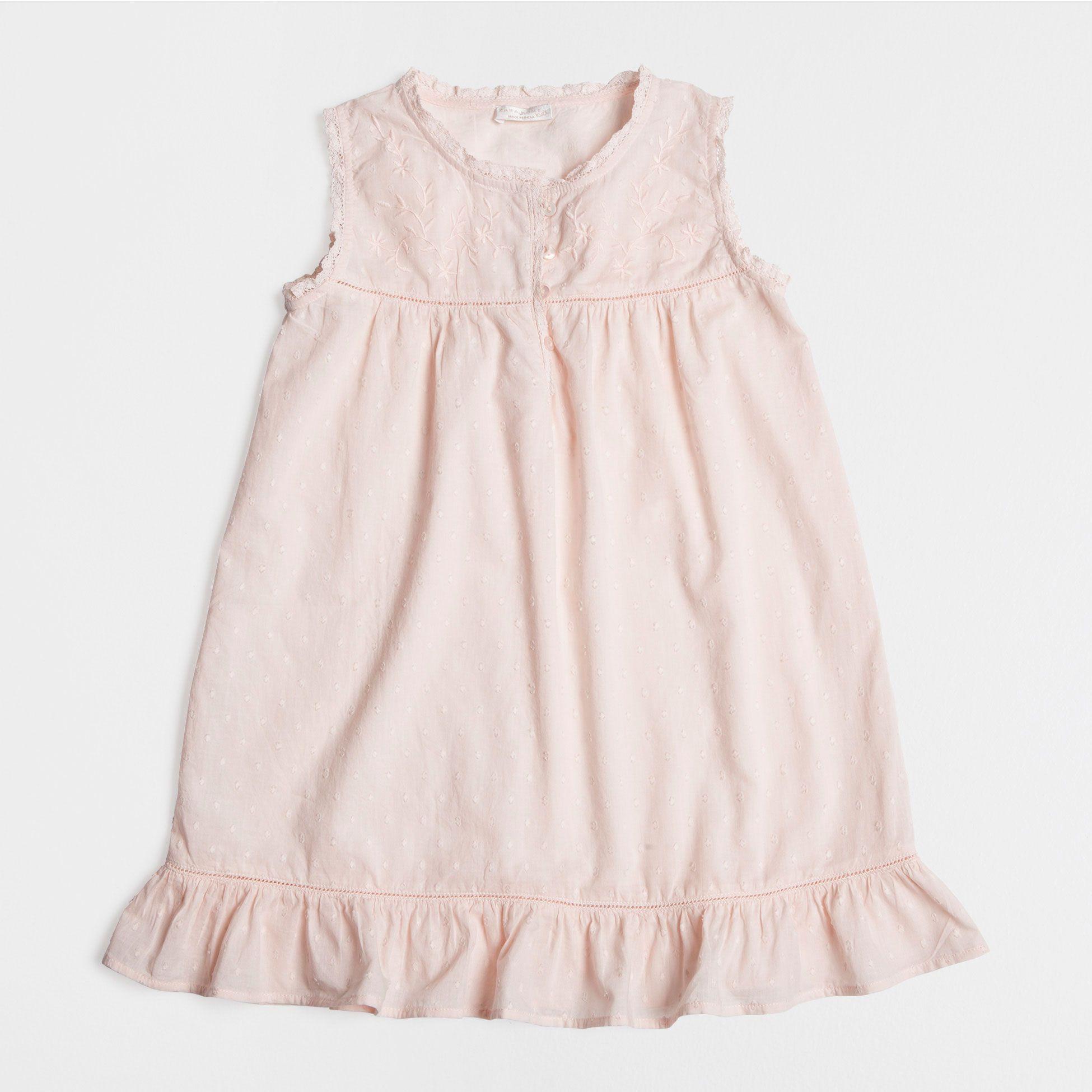 19a89b12 Embroidered Cotton Nightdress - Kids - Homewear | Zara Home United Kingdom