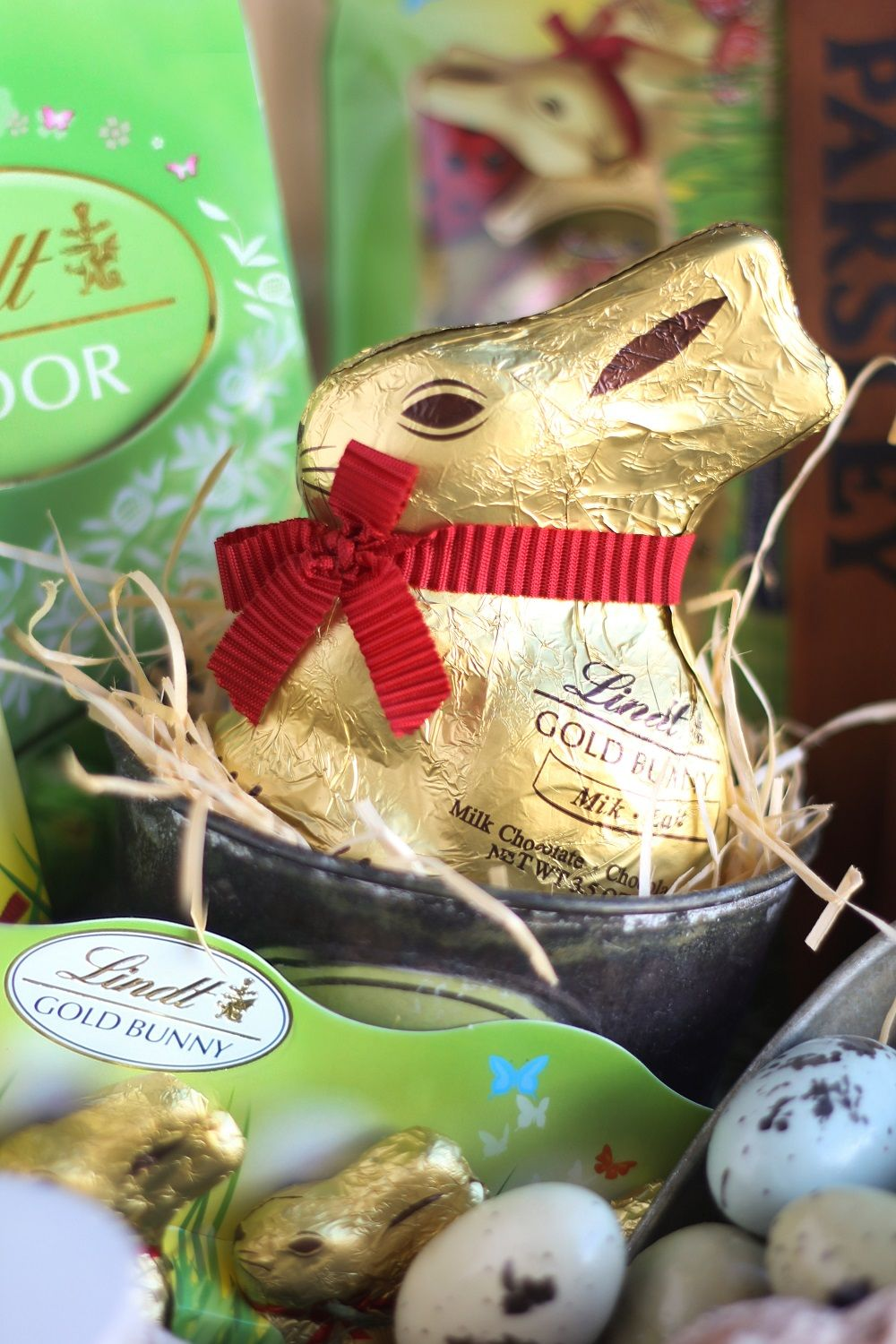 Lindt themed easter basket for a gardening guru easter lindt lindt themed easter basket for a gardening guru negle Image collections