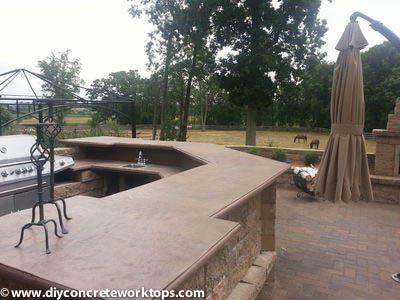 Counterform Distribution Concrete Countertops Outdoor Decor Summer Kitchen