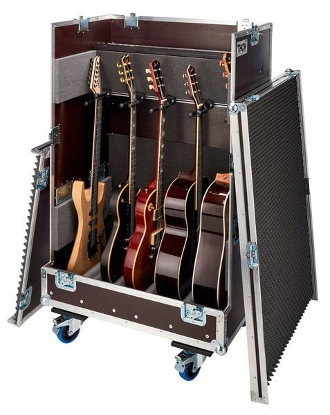 thon tour case for 5 guitars basses thomann france road cases in 2019 road cases guitar bass. Black Bedroom Furniture Sets. Home Design Ideas