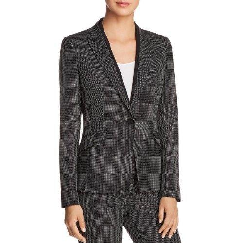 a8340e40310 Boss Hugo Boss Womens Jeresa Suit Seperates Professional Wear One-Button  Blazer