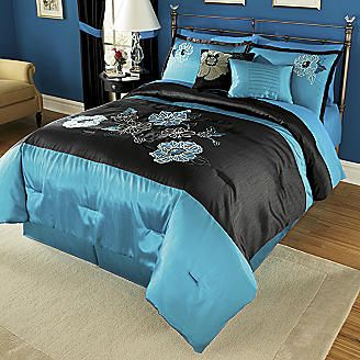 Marianne 10 Piece Embroidered And Appliqued Bed Set Window