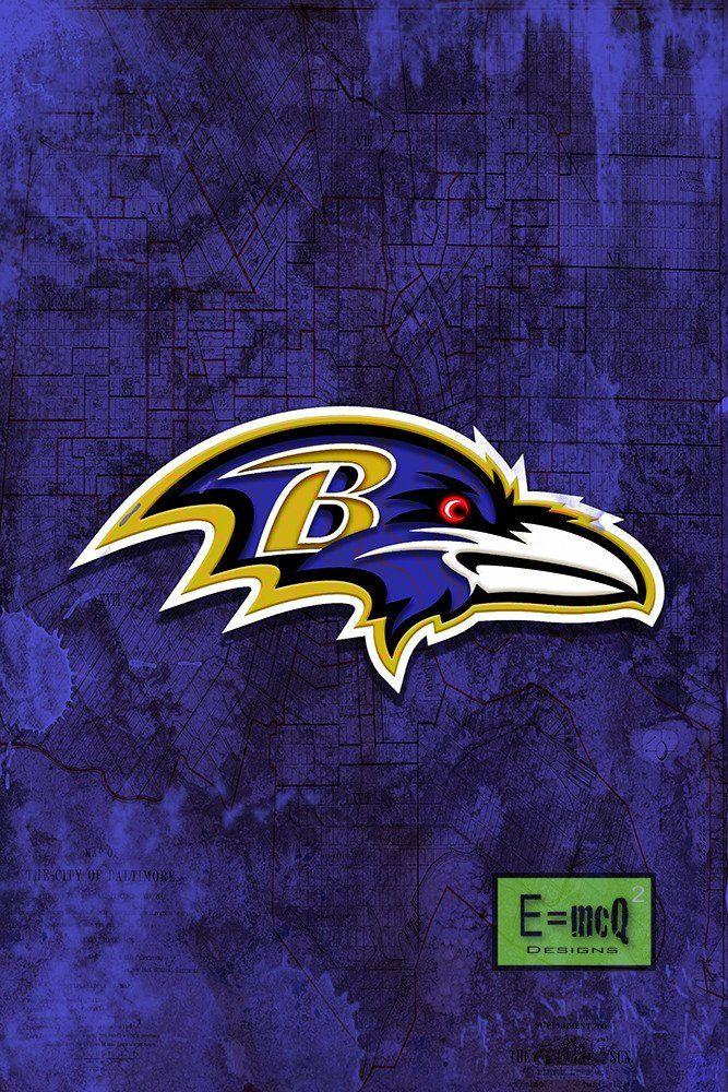baltimore ravens football poster