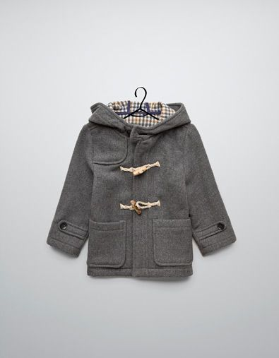 wool duffle coat - Coats - Baby boy (3-36 months) - Kids ...