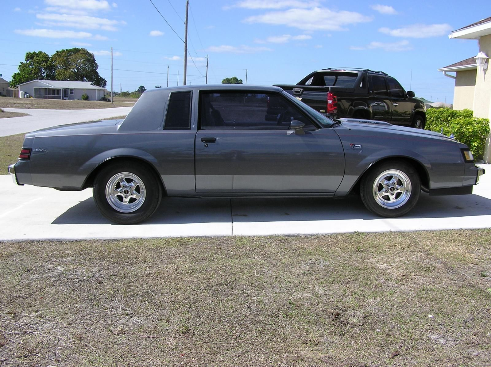 Up for sale is my 1986 buick regal t type this is a pristine rust free florida car with miles