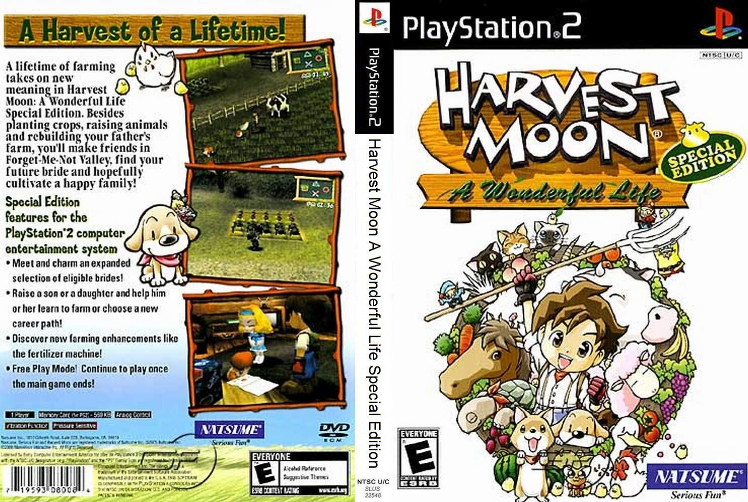 Harvest Moon A wonderful life special edition | All things
