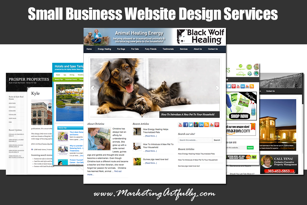 Small Business Website Design Services Responsive, modern and ...