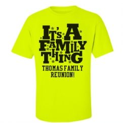 Custom Family Reunion T-Shirts & Hoodies | Family Reunions ...