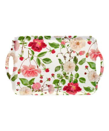 Traditional Rose Large Tray #zulily #zulilyfinds