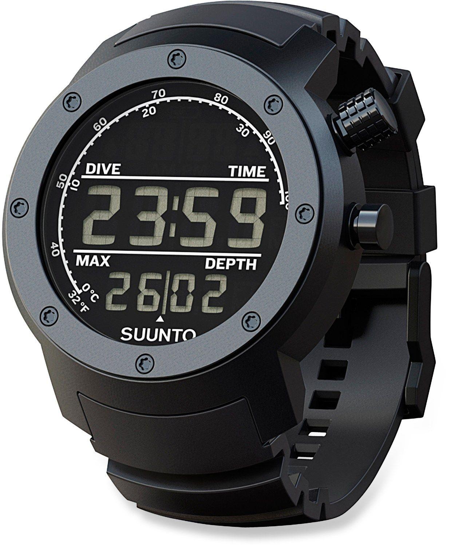 suunto elementum aqua black multifunction diving watch rubber suunto elementum aqua black multifunction diving watch rubber shipping at rei com
