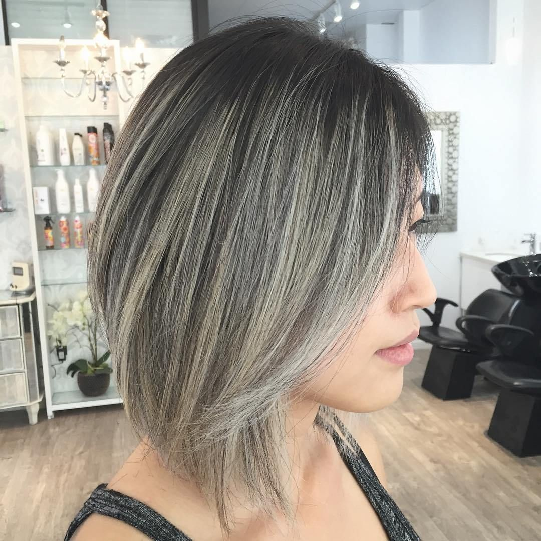 Shades of Grey Silver and White Highlights for Eternal Youth