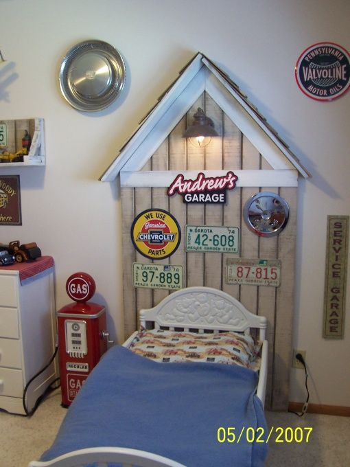 """Baby Boy Room Cars: I Like The Idea Of Calling It His """"Garage"""" And The Hubcap"""