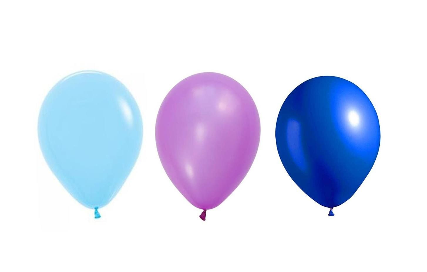 510 Baby Light Blue Purple And Dark Blue 12 Party Balloons Pear Shaped Bulk Wholesale Lot Check Out The Image By Visiting Party Balloons Balloons Babylights
