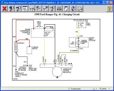 1998 Ford ranger engine wiring diagram #6 | truck ref