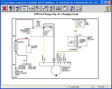 1998 Ford ranger engine wiring diagram #6 | truck ref