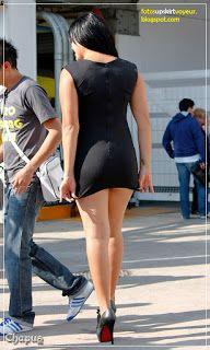 Imagenes de mujeres con vestidos muy cortos