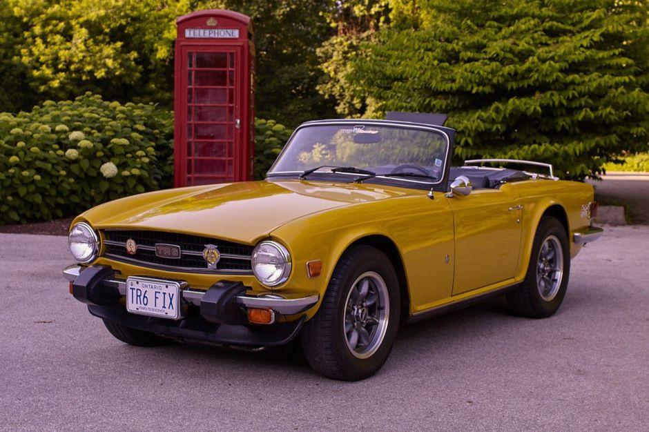 31YearsOwned 1976 Triumph TR6 Triumph tr6, Triumph