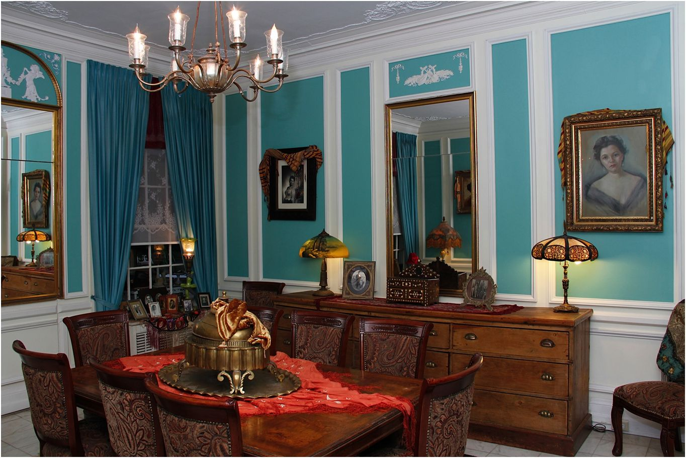 Turquoise Room Images