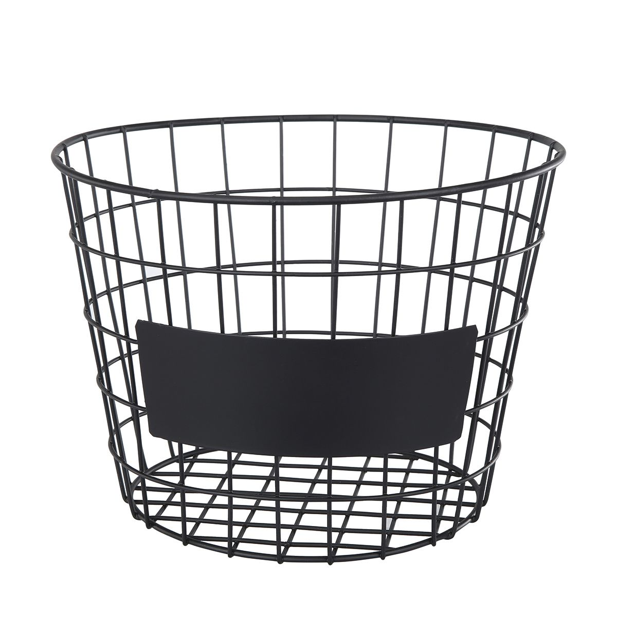 Round Blackboard Basket | Blackboards, Rounding and Pantry storage
