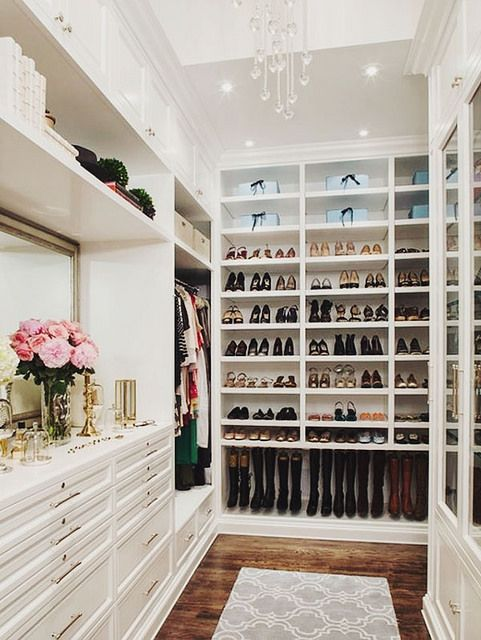 This Closet Inspiration By This Is Glamorous Via Flickr Laylagrayce Closet Closet Design Home Dream Closets