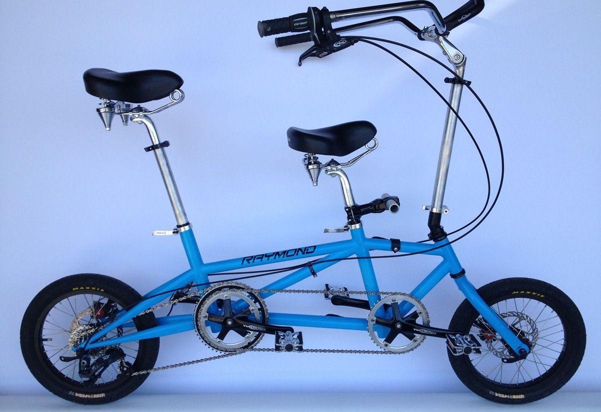 Pin oleh disvorcelism di Tandem bikes Sepeda