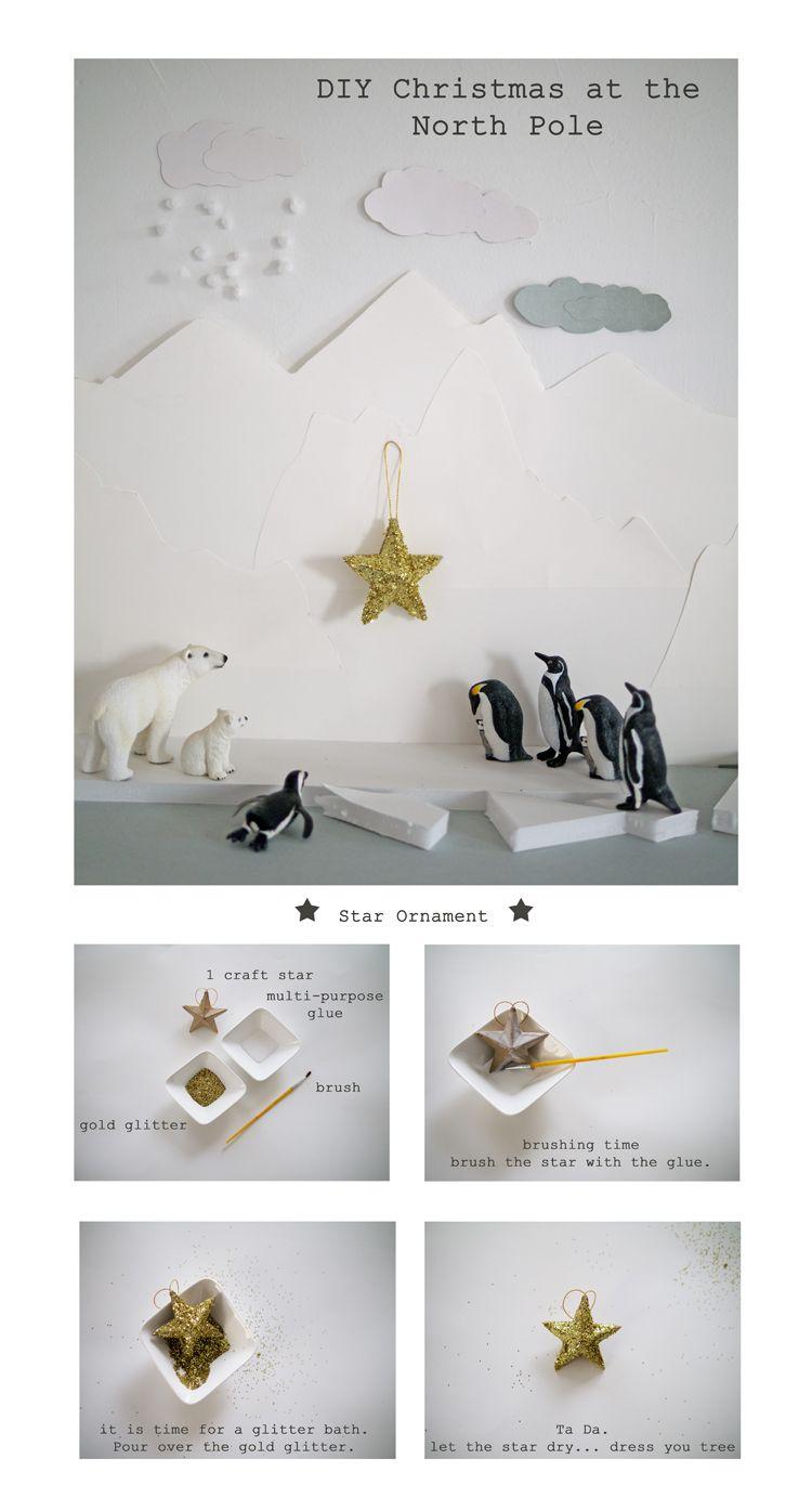 DIY: Star Ornament by La Maison de Loulou (via petit a petit and family)