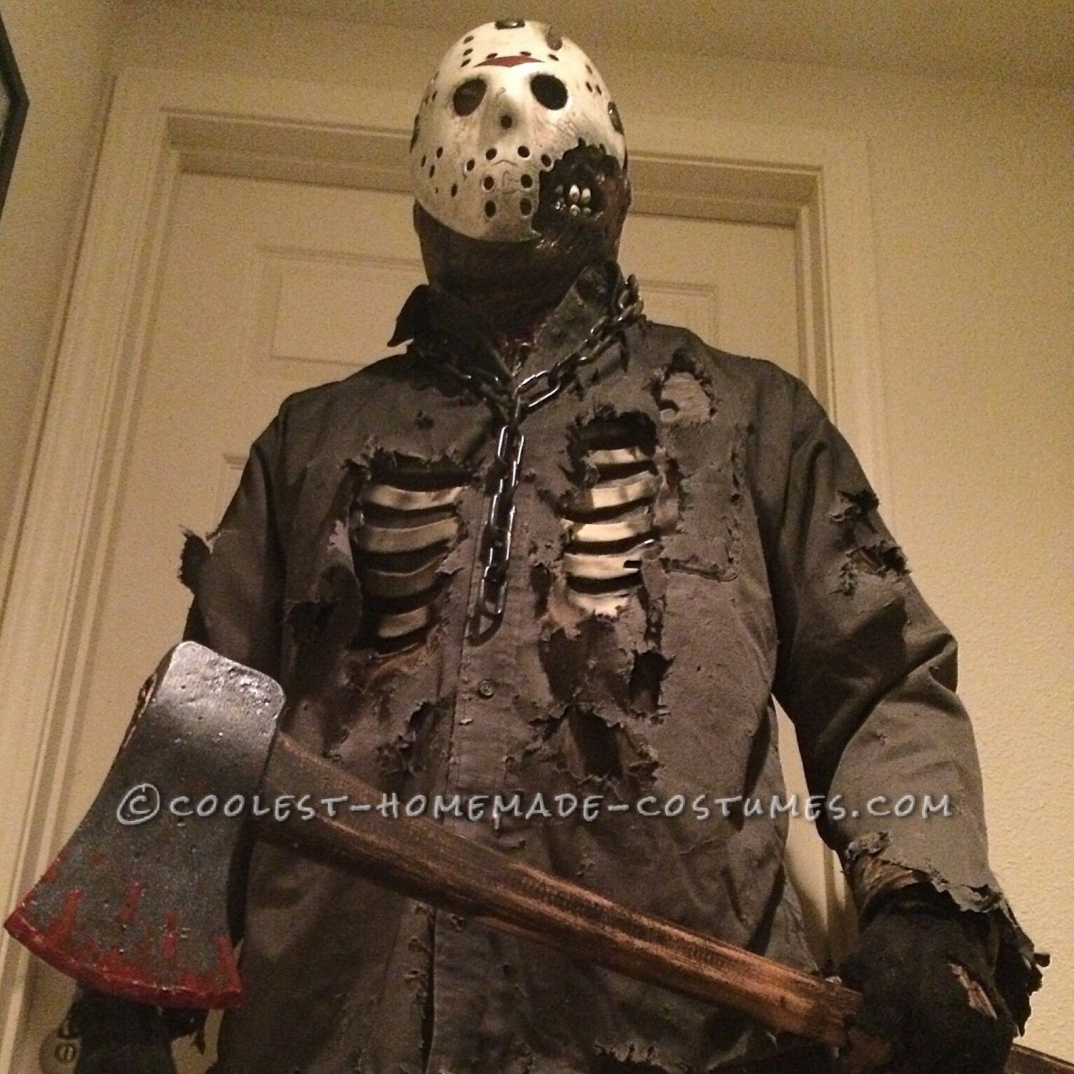 Friday the 13th part 7 costume build halloween costume contest friday the 13th part 7 costume build coolest halloween costume contest solutioingenieria Images