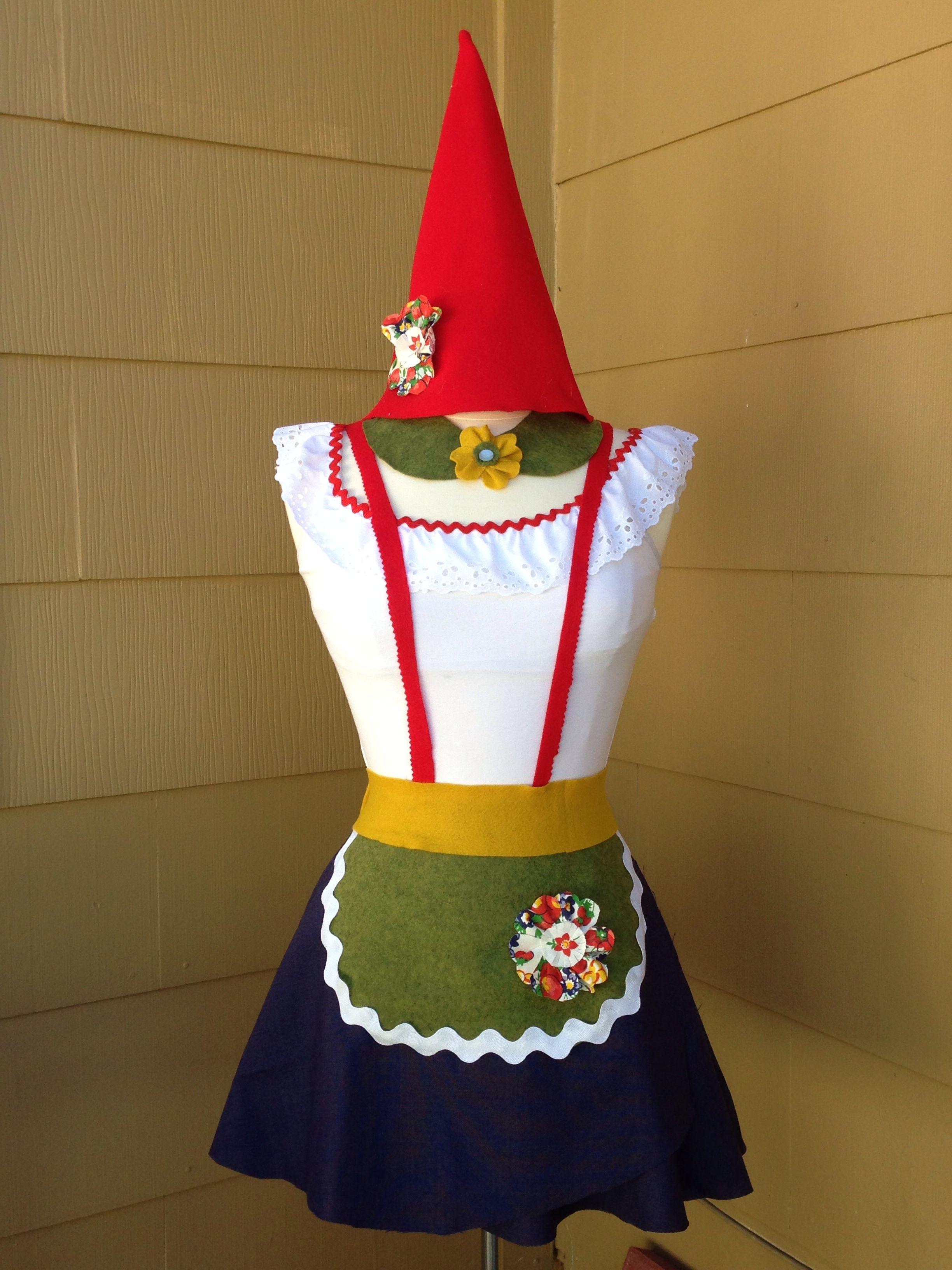 My homemade gnome costume