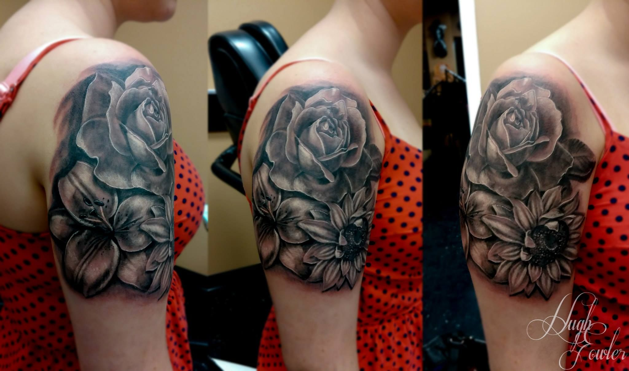 Beautiful floral piece done by hugh fowler we are a